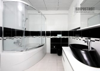 Ванная, комбинированная с душевой кабиной