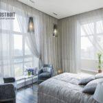 Как выбрать красивые шторы в спальню: фото удачных образцов