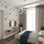 Обои для современной спальни: дизайн и фото интерьеров