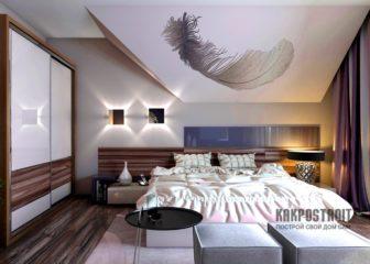 Дизайн интерьера спальни: фото-каталог