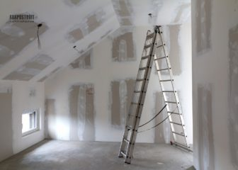 Обшивка стен листами ГКЛ
