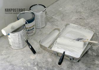 Как наносится грунтовка для стен под шпаклевку