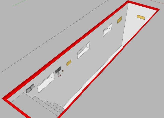Схемасмотровой ямы в гараже