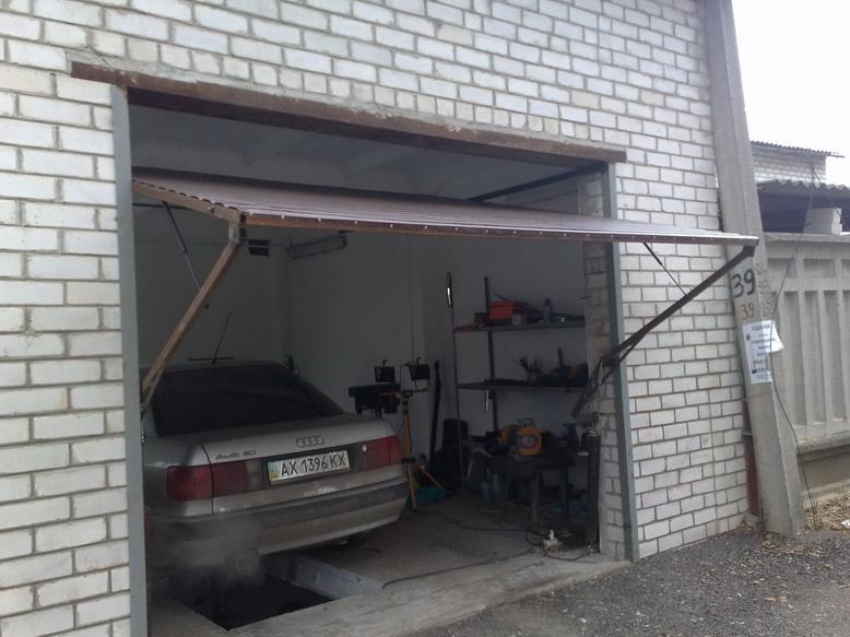 ворота для гаража поьемные
