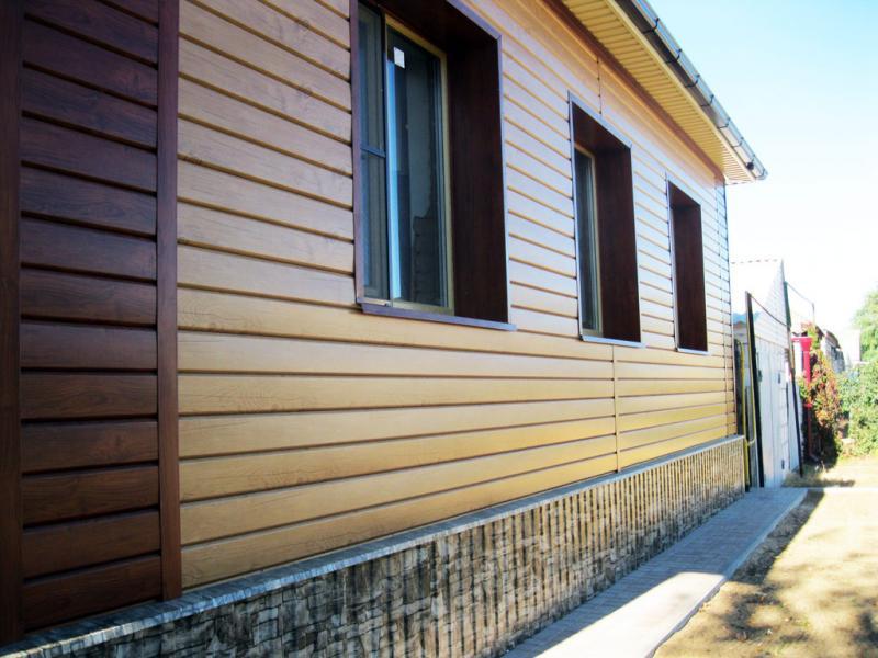Дом с виниловым сайдингом