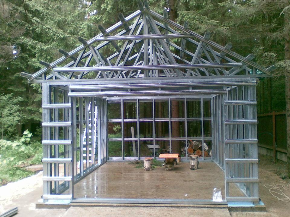 Как сделать дом из железа 649