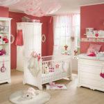 Тёмно-розовая детская для девочки