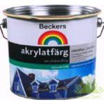 Beckers — для покраски фасадов
