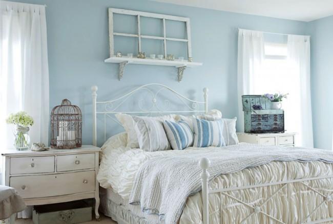 Цветовое решение в спальне