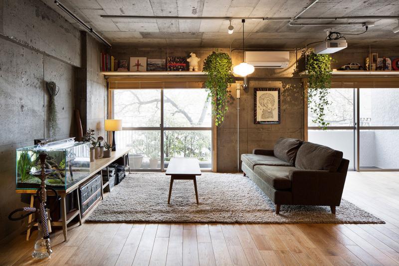 Комната в стиле гранж