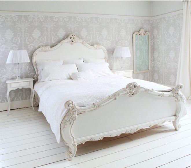 Кремовая спальня