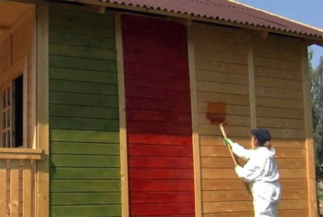 Окраска фасада своими руками