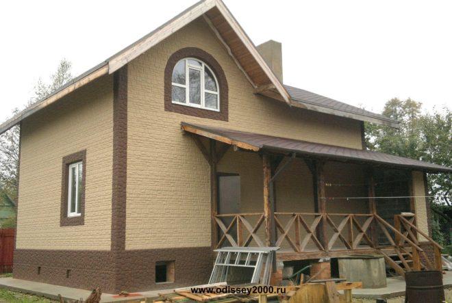 Панели для отделки фасада дома под камень цена