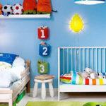 Яркая комната для двух мальчиков