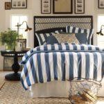 Морской стиль в интерьере спальни