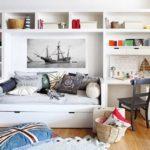 Комната для девочки в морском стиле