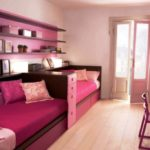 Розовая комната для подростков