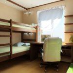 Лаконичная комната для двух мальчиков