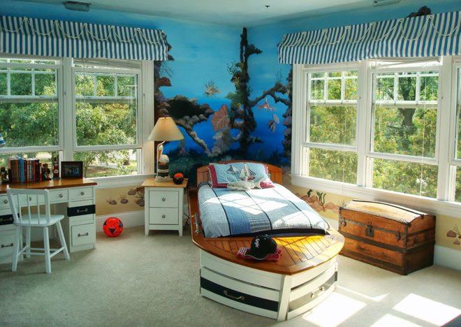 Индивидуальная мебель морской стиль