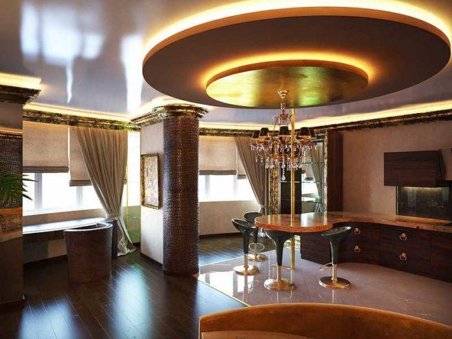 Комната в стиле арт-деко