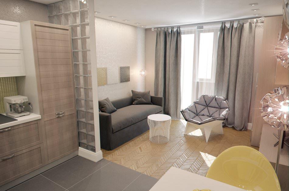 Интерьеры маленьких квартир студий 30 кв.м фото
