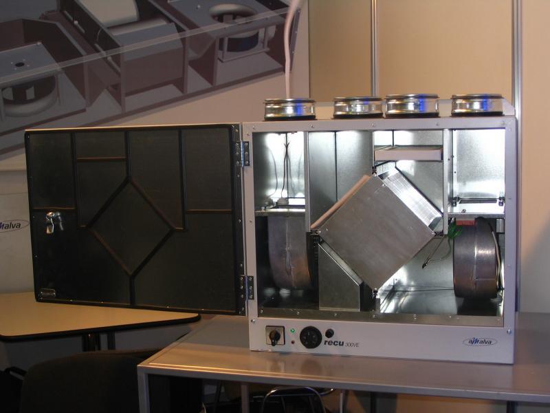 Оборудование для рекуперации воздуха