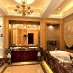 Ванная комната в стиле ампир