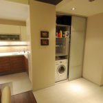 Квартира-студия с маленьким коридором