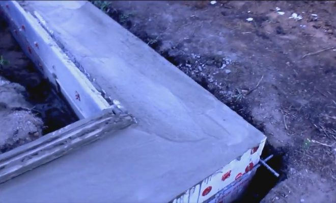 Выравнивание бетонного слоя