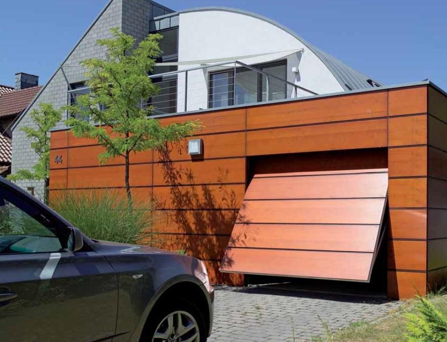 Изготовление и установка подъёмных гаражных ворот своими руками