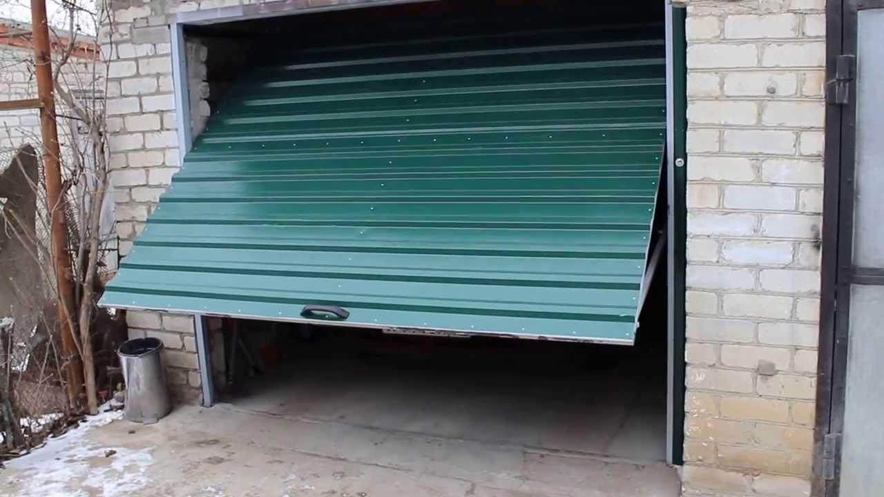 пподъемные гаражные ворота