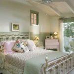 Спальня в стиле шебби с нотками прованса