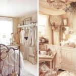 Сушеные букеты в спальне