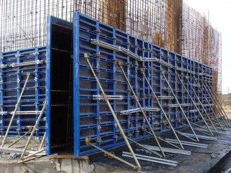 Стальная опалубка для строительства стен