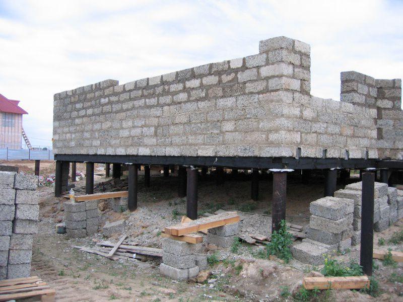 Фундамент под арболитовый дом своими руками 70