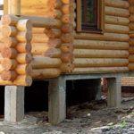 Дом на монолитных столбах