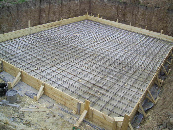 Плитный фундамент: как залить основание под дом своими руками