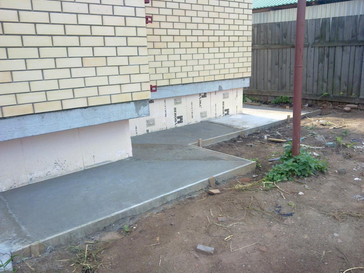 Отмостка: защита фундамента и достойная оправа для красивого дома