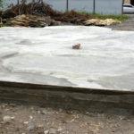 Плитный фундамент сложной формы
