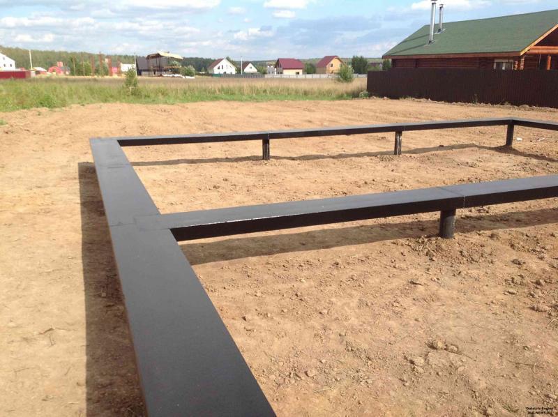 Свайно-ростверковый фундамент на песчаном типе грунта