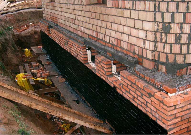 Строительство кирпичного дома своими руками фундамент