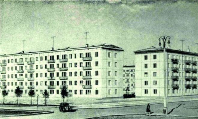 Типовые пятиэтажные дома постройки 50–80-х годов