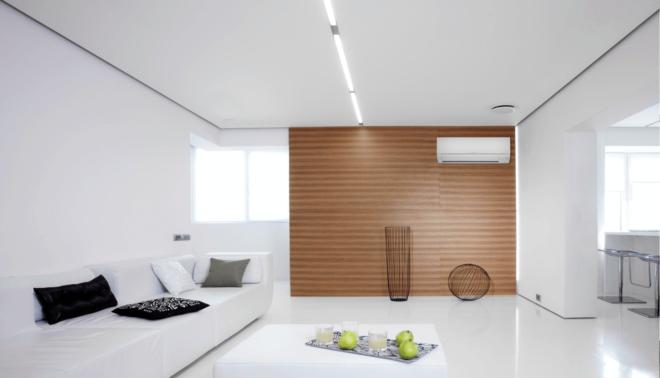 Декор в гостиной минимализм