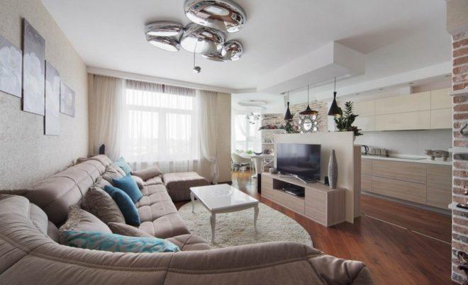 Как оформить квартиру-студию в стиле контемпорари: особенности стиля, ...