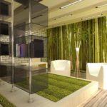 Сочная гостиная в стиле эко