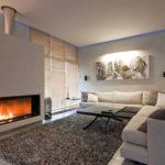 Оформление гостиной в стиле минимализма
