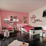 Комната для девушки в розовом цвете