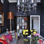 Комната в стиле ар-деко с яркими акцентами