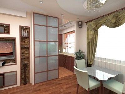Перепланировка хрущевки с 2 смежными комнатами: варианты