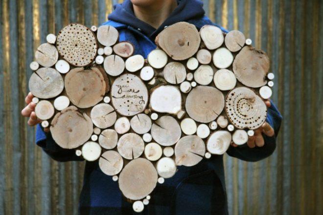 панно на стену своими руками из дерева